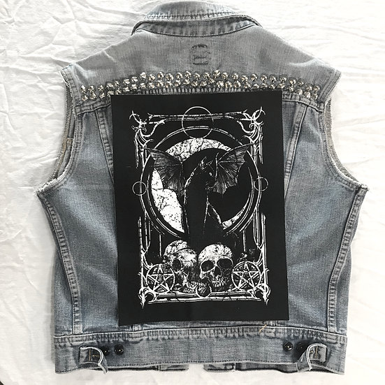 Moon Kitty Back Patch