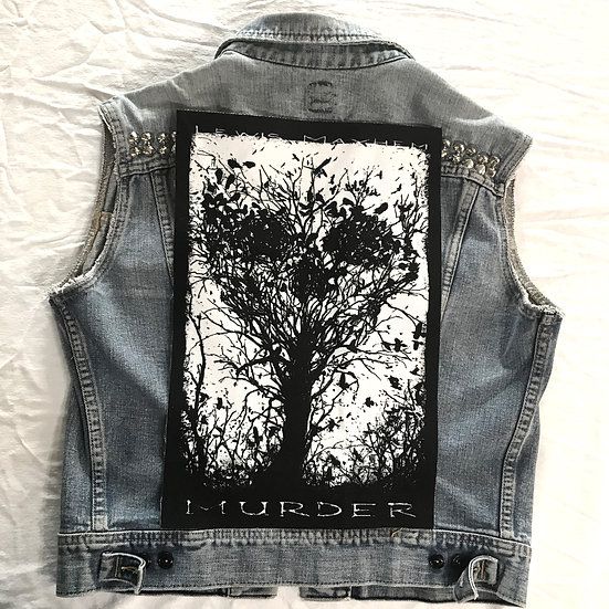 Murder of Crows Back Patch