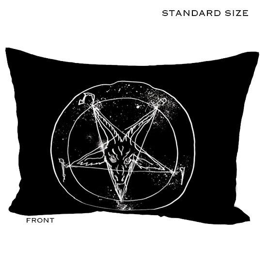 Satanic  Pillow Sham