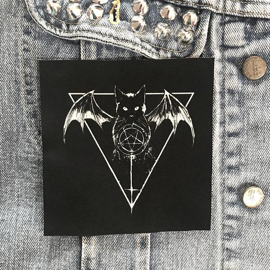 Satanic Pussy Canvas Patch