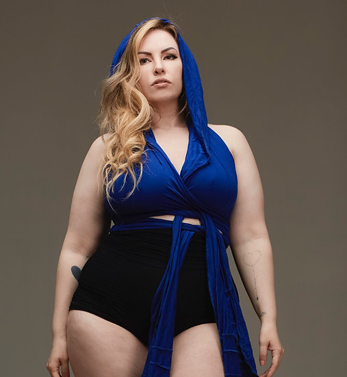 Blue Warrior Wrap