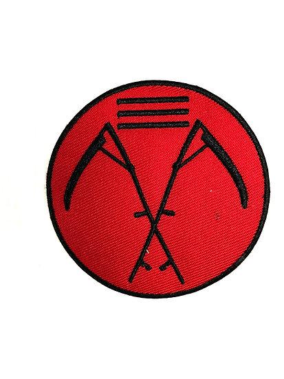 Cross Scythe Patch
