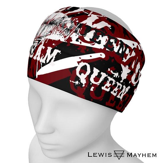 Scream Queen Insanity Print Headband