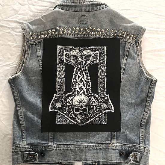 Thor's Hammer Back Patch