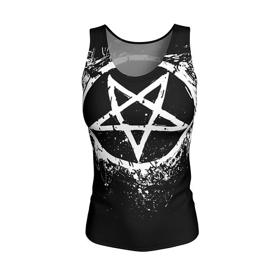 Pentacle Fitted Tank Top