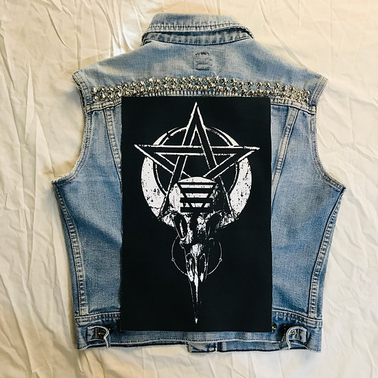 Raven Witch Back Patch