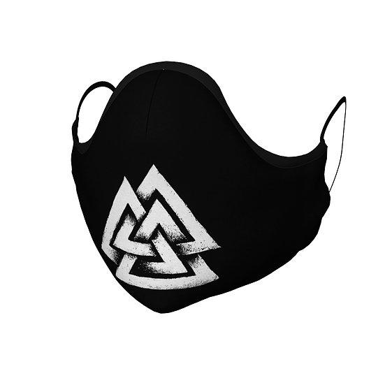 Valknut Face Mask