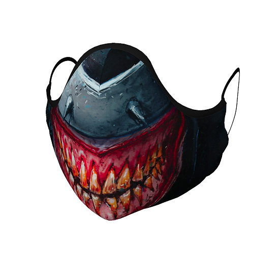 Evil Teeth Face Mask