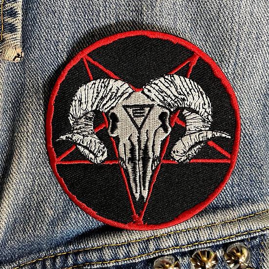 Ram Skull Patch