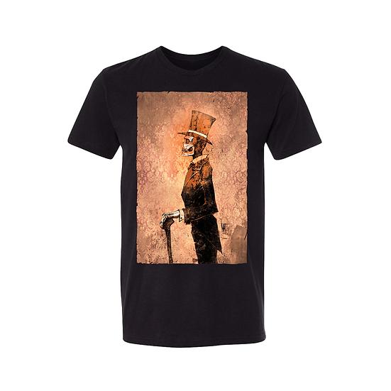 Dapper Skull  T-Shirt