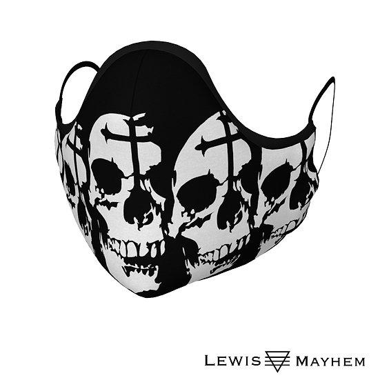 Goth Skull Face Mask
