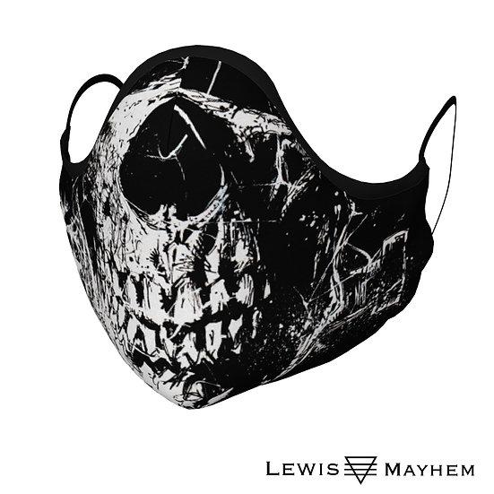 Frankenskull Teeth Face Mask