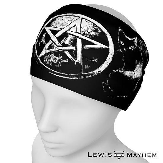 Occult Cats Headband