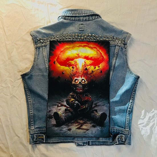 Kaboom Back Patch