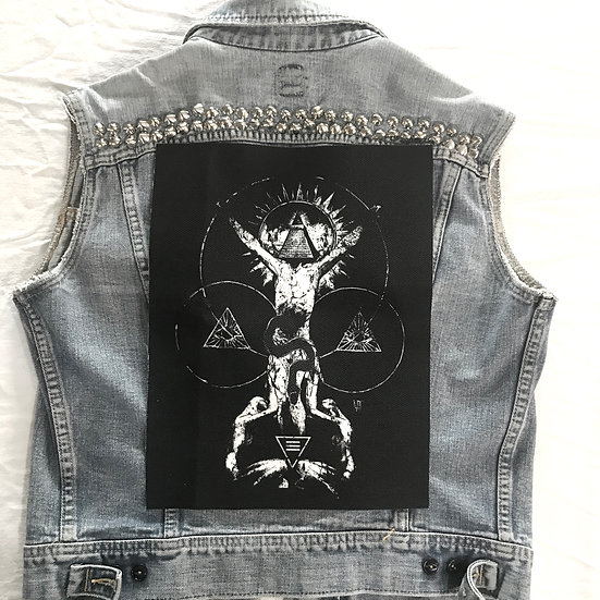Worship Back Patch
