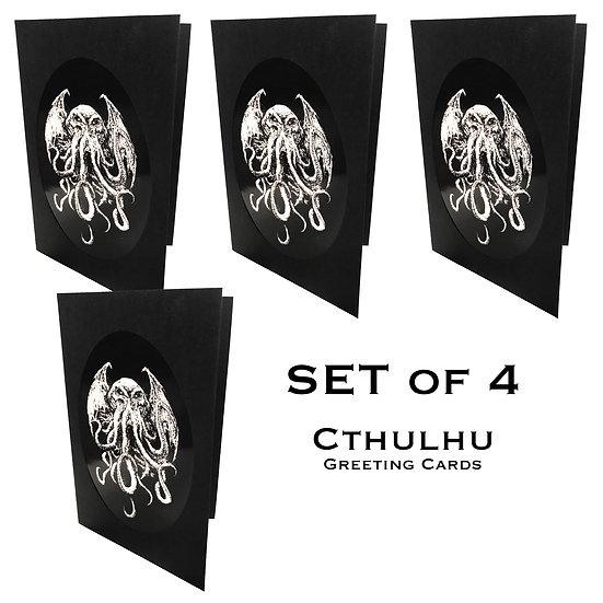 Cthulhu Greeting Card Set