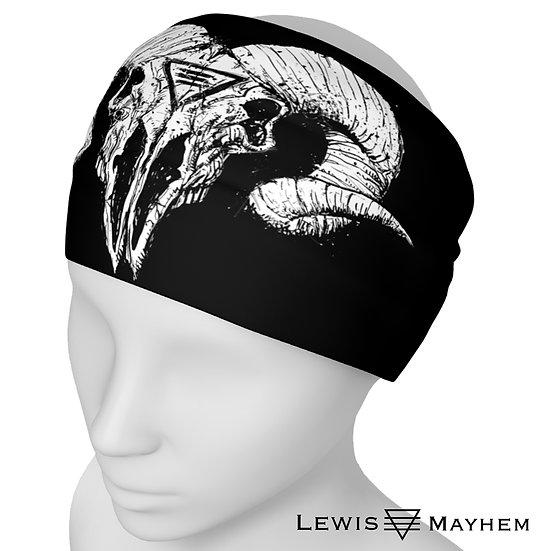Ram Skull Headband