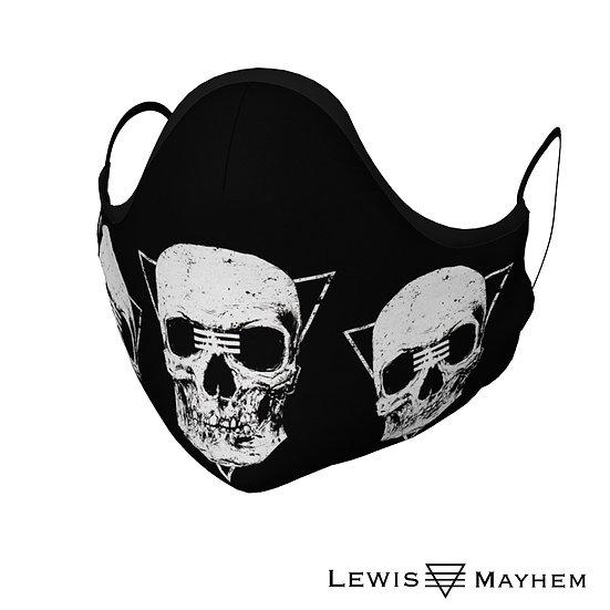 Skull Tribe Face Mask