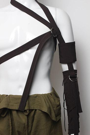Brown Arm Harness