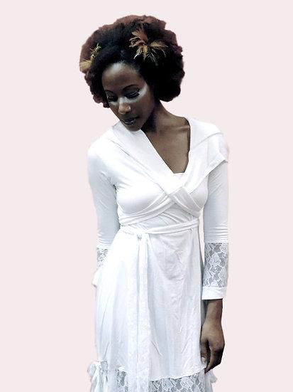 White Goddess Robe