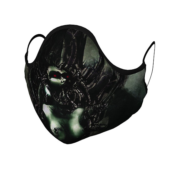 Cyber Femme Face Mask
