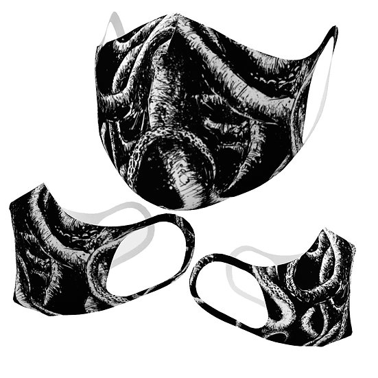 Tentacles Simple Lightweight Mask