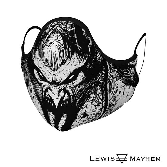 Krampus Face Mask