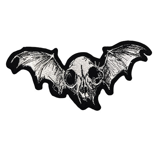 Cat Skull with Wings Patch