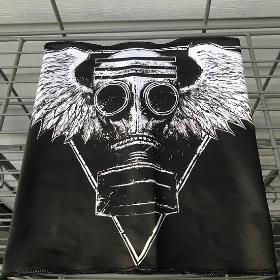 Gas Mask with Wings Headband