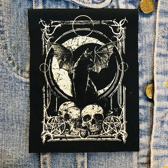 Mina: Witchcraft Canvas Patch