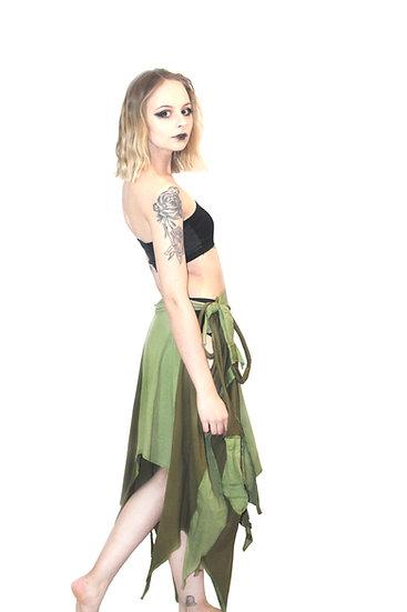 Green Shaman Skirt