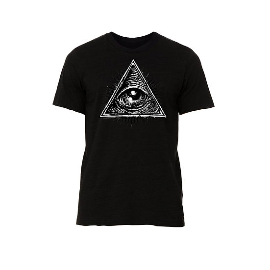 Black All Seeing Eye T-Shirt