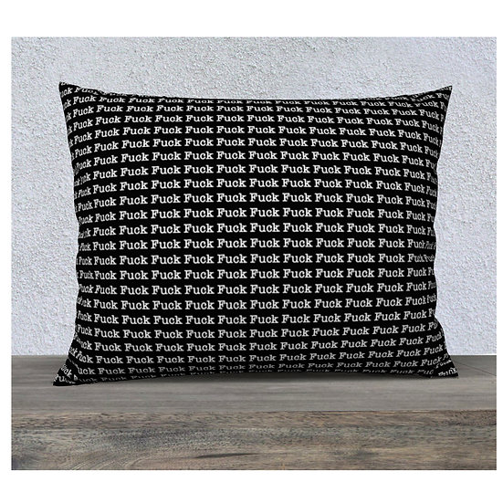 FUCK Pillowcase - Double Sided