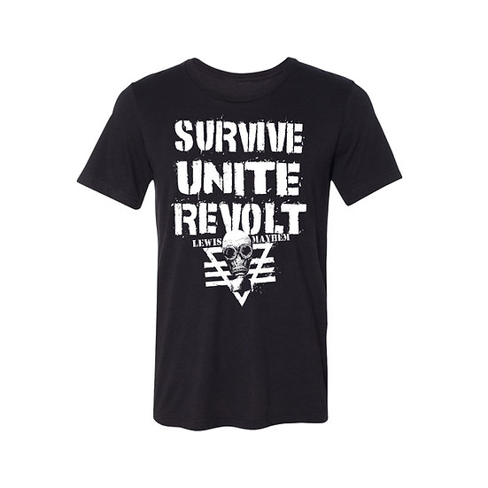 Survive Unite Revolt T-Shirt