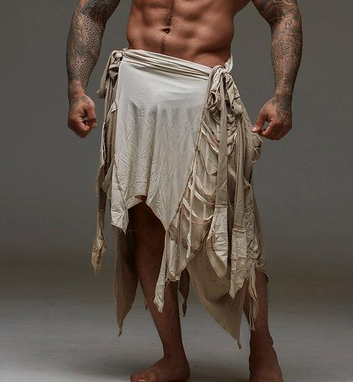 Bone and Beige Shaman Skirt