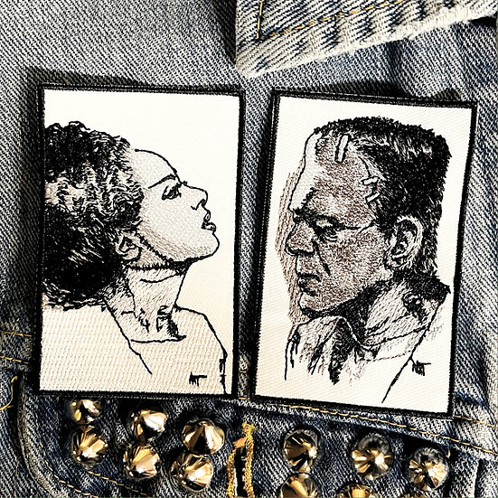 Frank and Bride Patch Set