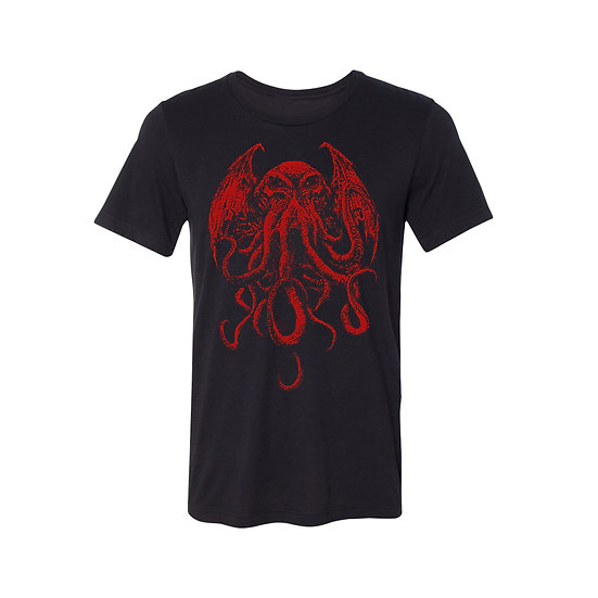 RED Cthulhu T-Shirt
