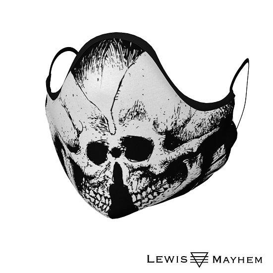 Skull Love Face Mask
