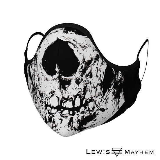 Skull Teeth Face Mask