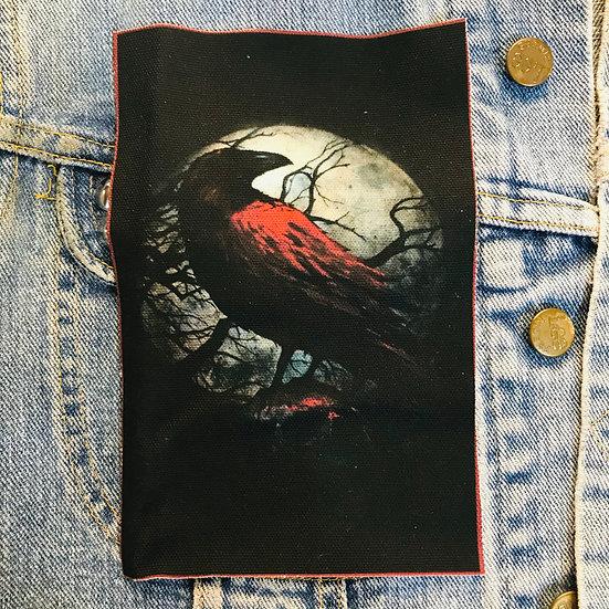 Blood Raven Canvas Patch