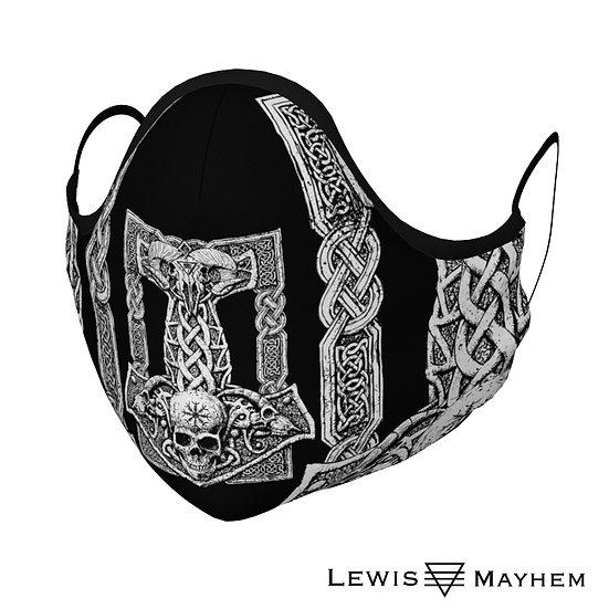 Thors Hammer Face Mask