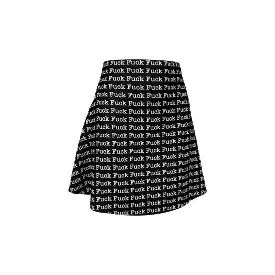 FUCK Flare Skirt