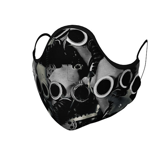 Gas Mask Chaos Face Mask