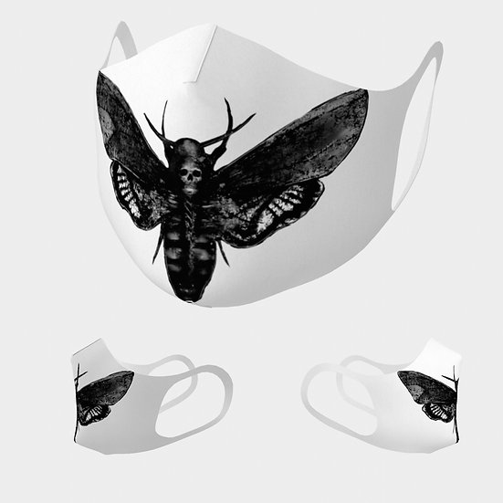 Death Moth Simple Lightweight Mask