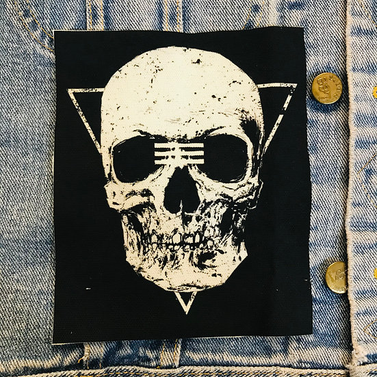 Tribe Skull Canvas Patch