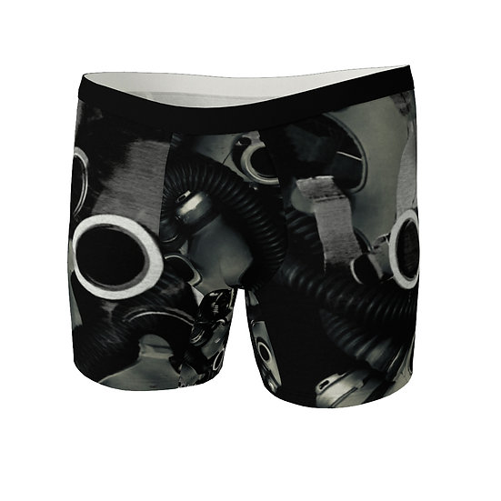 Mens Gas Mask Chaos Boxers