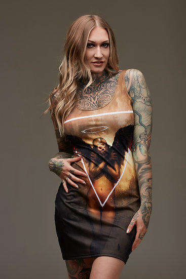Sinner Bodycon Dress
