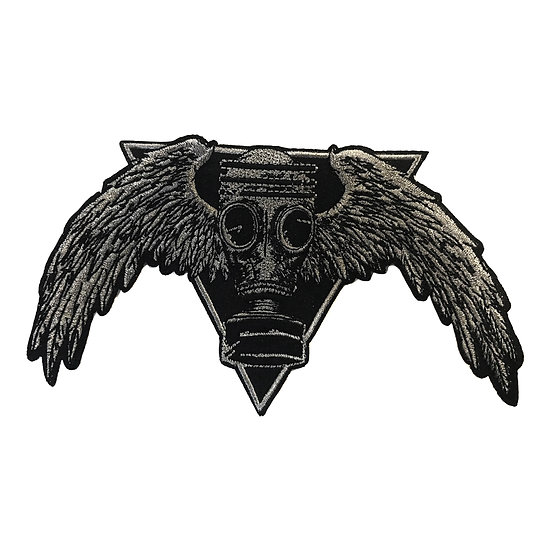 Gas mask with Wings Patch