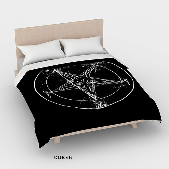 Satanic Duvet Cover