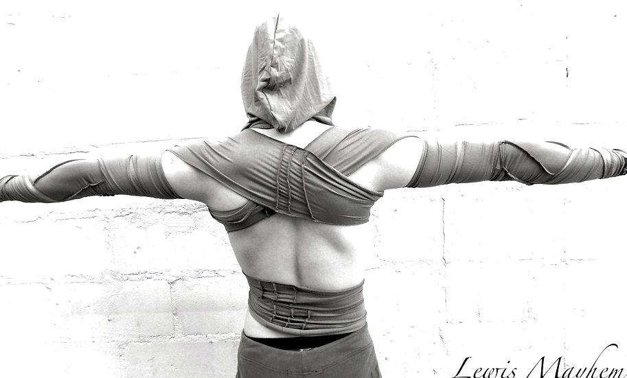 Grey Warrior Wrap